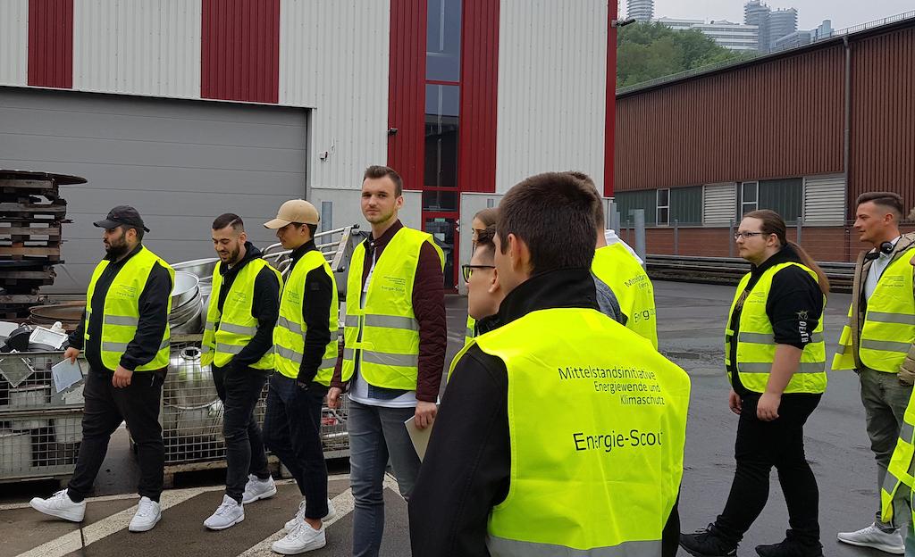 Energie-Scouts zu Gast bei Slawinski